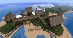 Nordic (Viking) Town Minecraft Map & Project