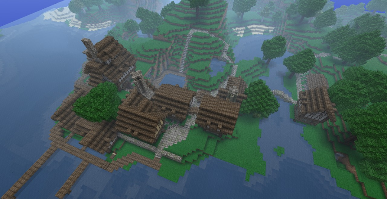 Medieval Fishing Village (DL) [UPDATED2] Minecraft Project