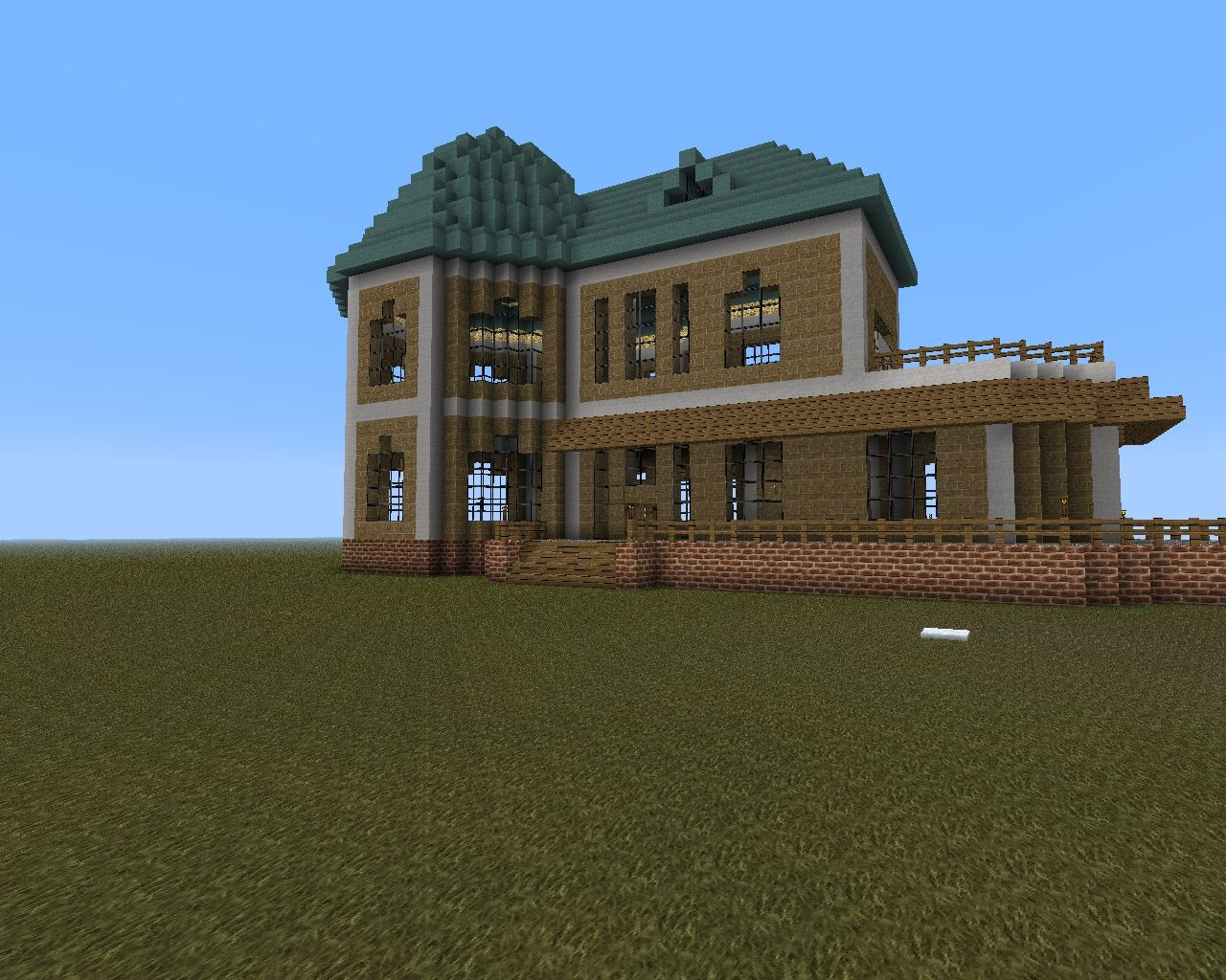Victorian House Minecraft Project