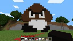 Goomba V's Boo!! Minecraft Project