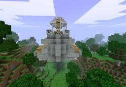 Captains' Airship Support Gunner Minecraft Map & Project