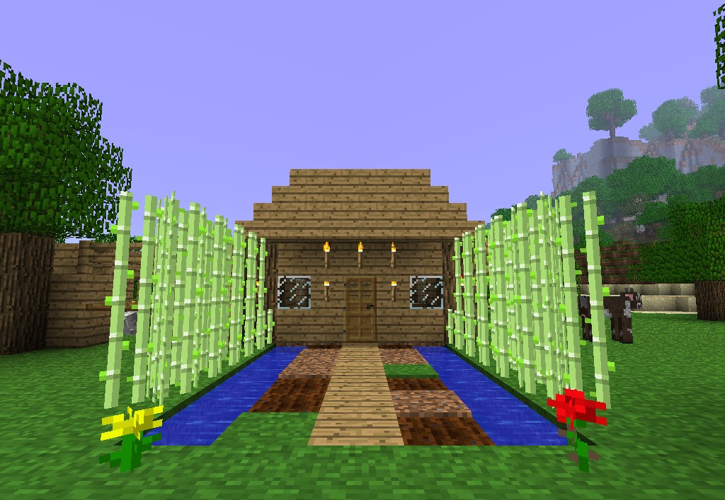 The House Im Currently In Improved Minecraft Project