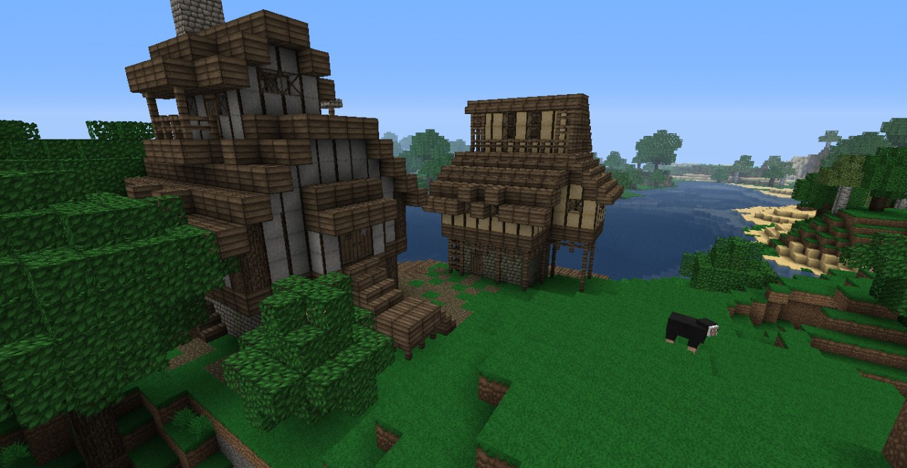 Looking at pics when I did these houses. Pretty sweet inside. ;0