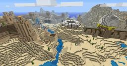 Desert Kingdom WIP Minecraft Map & Project
