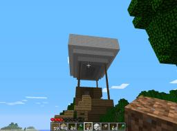 my first  air ship Minecraft Map & Project