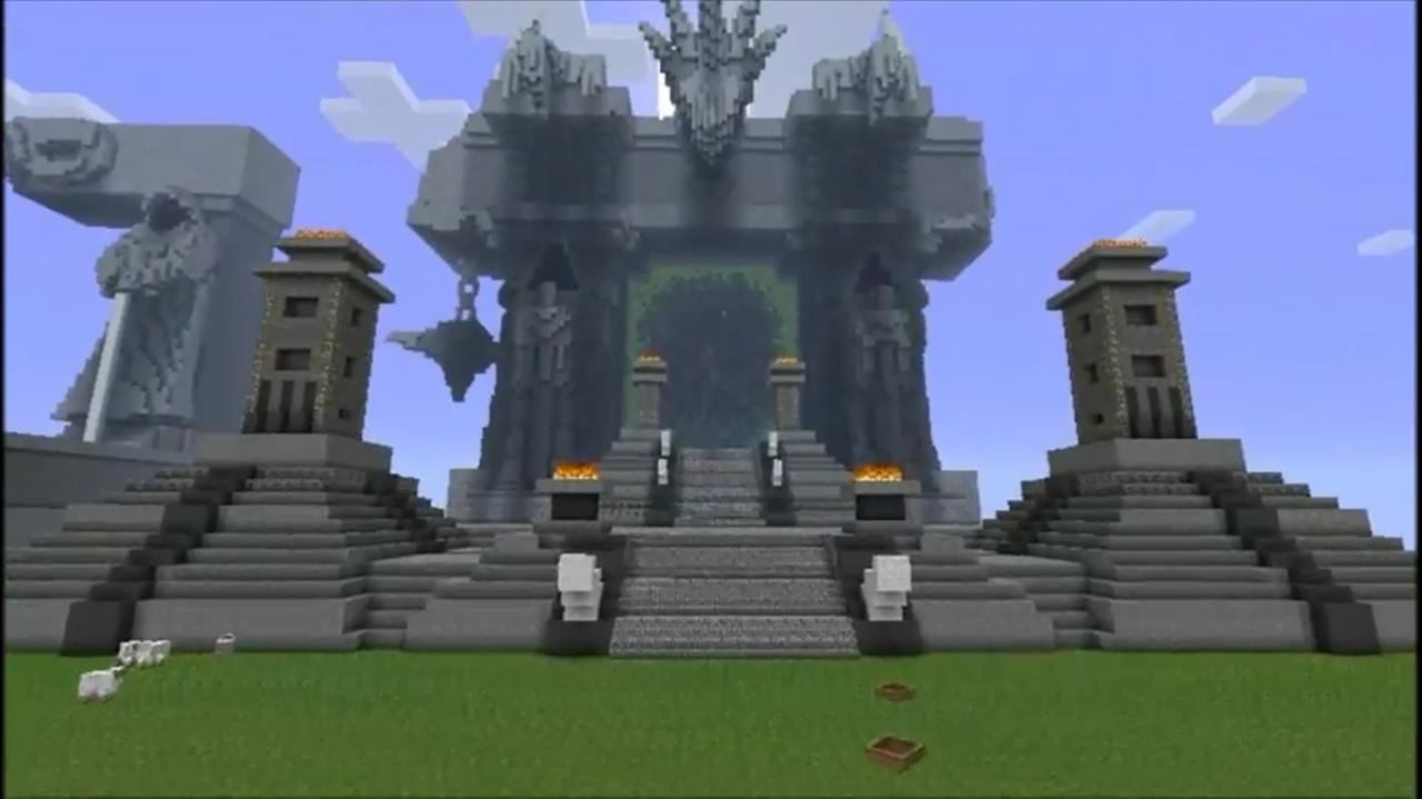 How To Build Miner Portal Minecraft