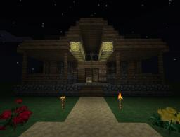 Single-Player starting home Minecraft Map & Project
