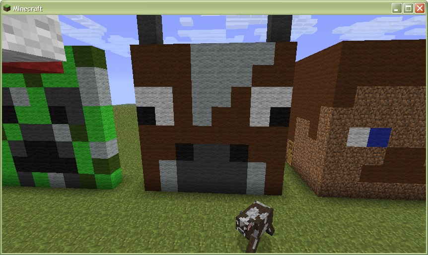 how to ride a cow in minecraft