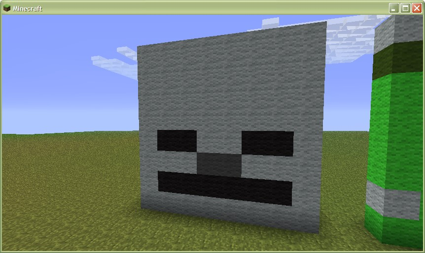 Skeleton Head Minecraft Project
