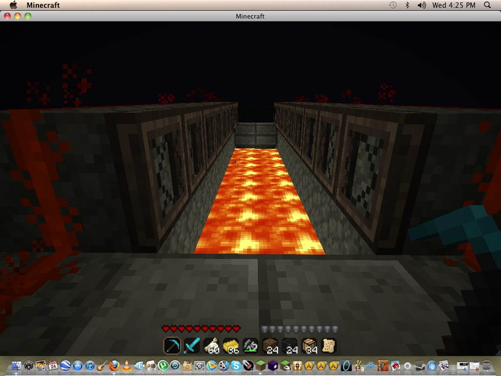 Open Lava Bridge