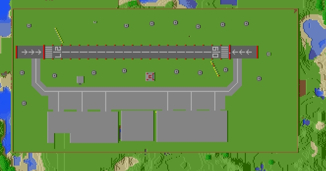Military Airfield Minecraft Project