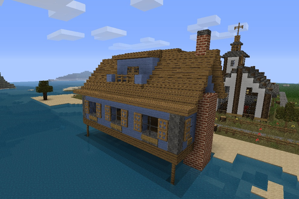 Minecraft beach house 28 images modern the beach house for Beach house designs minecraft