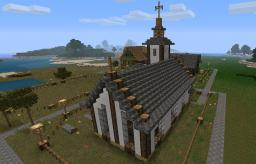 Small Town Church! Minecraft Map & Project