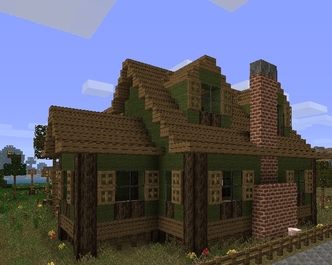 Farmhouse 2 Minecraft Project