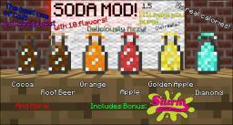 Soda Mod1.5! - Make Fizzy Drinks! What fun! Minecraft Mod
