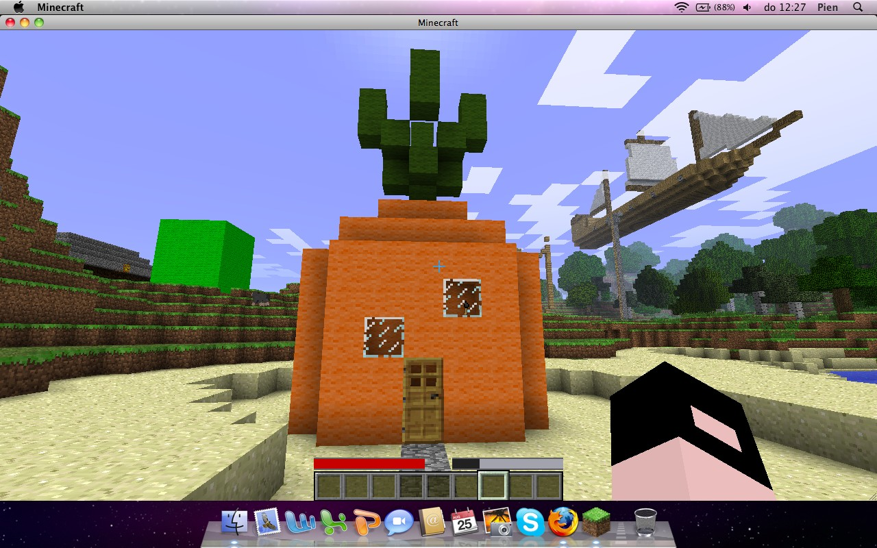 Spongebob House Minecraft Project