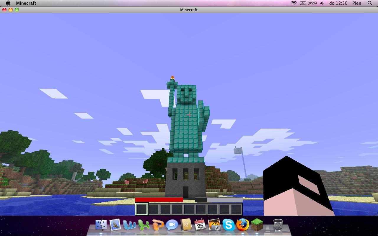 Minecraft Statue Warrior