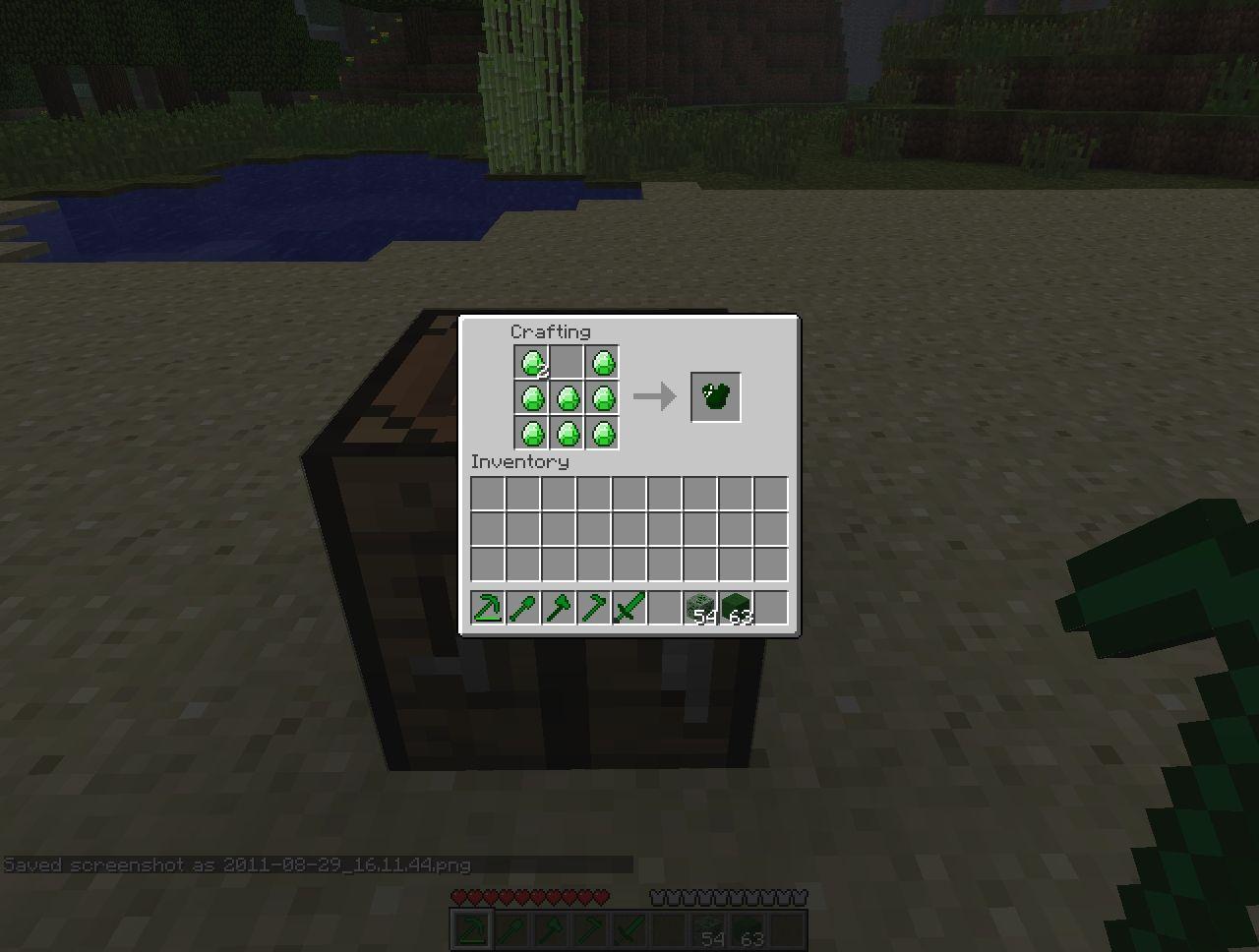 Minecraft Emerald Wallpaper Emerald Armour Minecraft