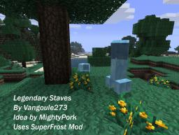Legendary Magic Staves (1.8.1) Minecraft Mod