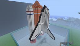 Rocket Ship Minecraft Map & Project