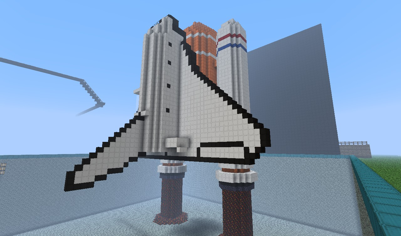 Rocket Ship Minecraft Project