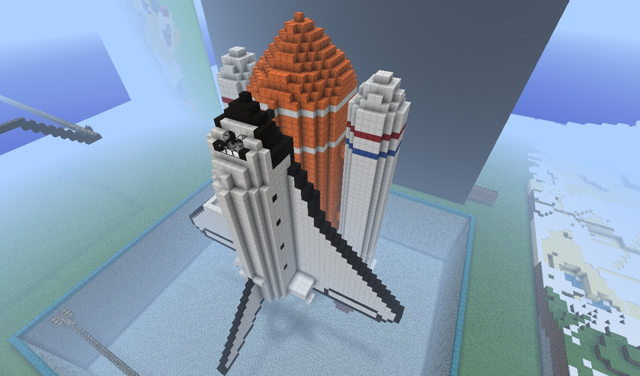 Rocket Ship Minecraft Project