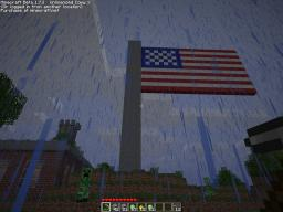 Flag of United States Of America Minecraft Map & Project