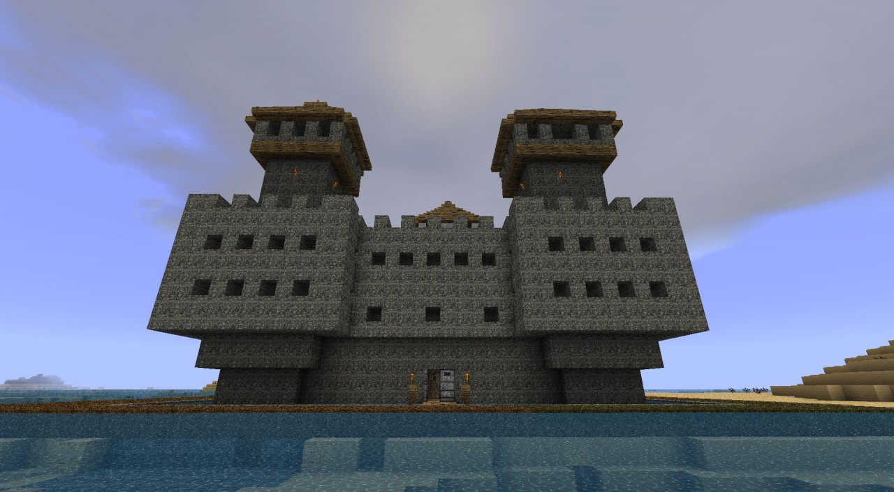 Castle keep minecraft images for Small chateau