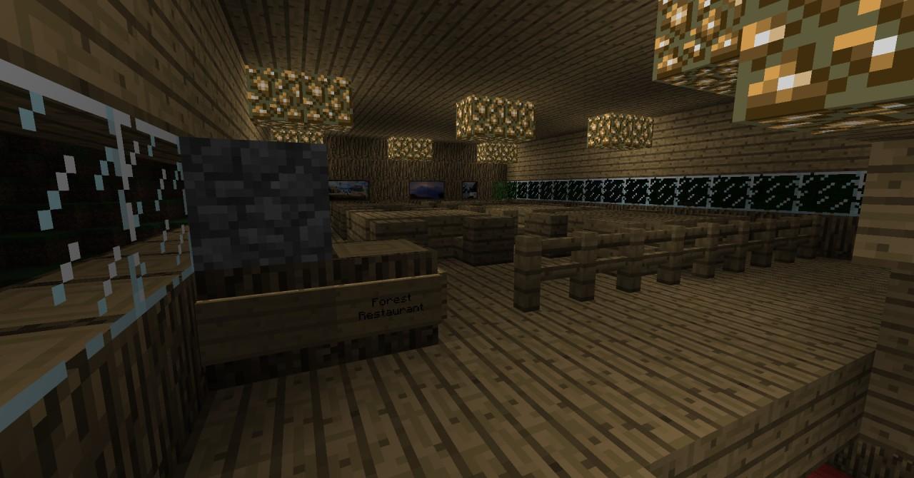 The forest restaurant on 1st floor