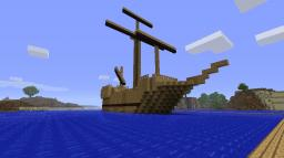 My ship Minecraft Map & Project