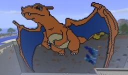 BIG Charizard Minecraft Map & Project