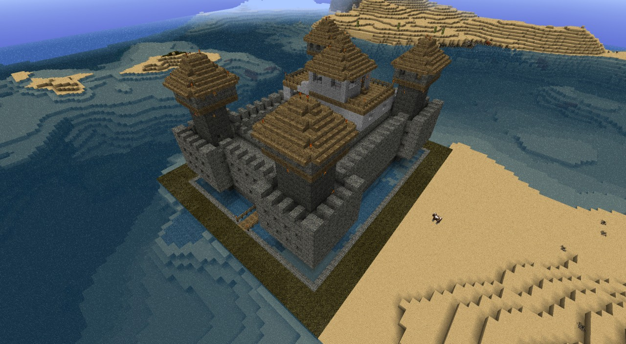 Small Castle Keep Minecraft Map