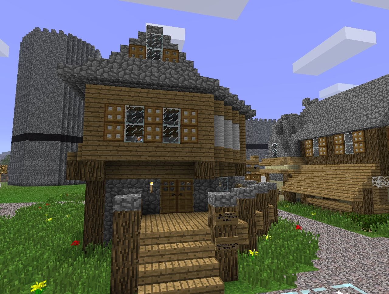 small medieval shop building minecraft project