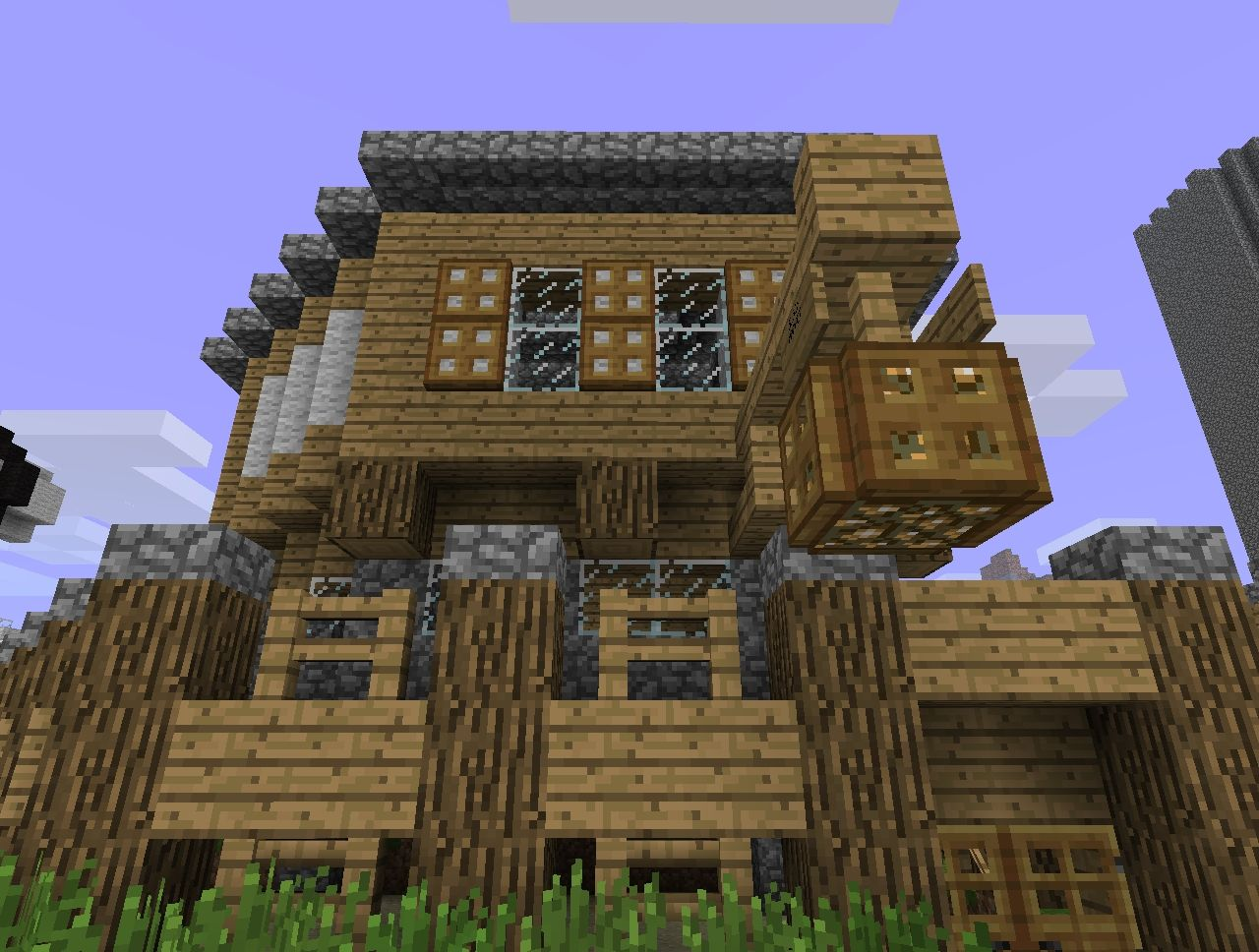 small medieval shop building minecraft project. Black Bedroom Furniture Sets. Home Design Ideas