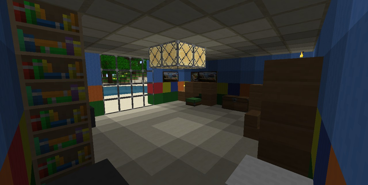my bedroom minecraft project