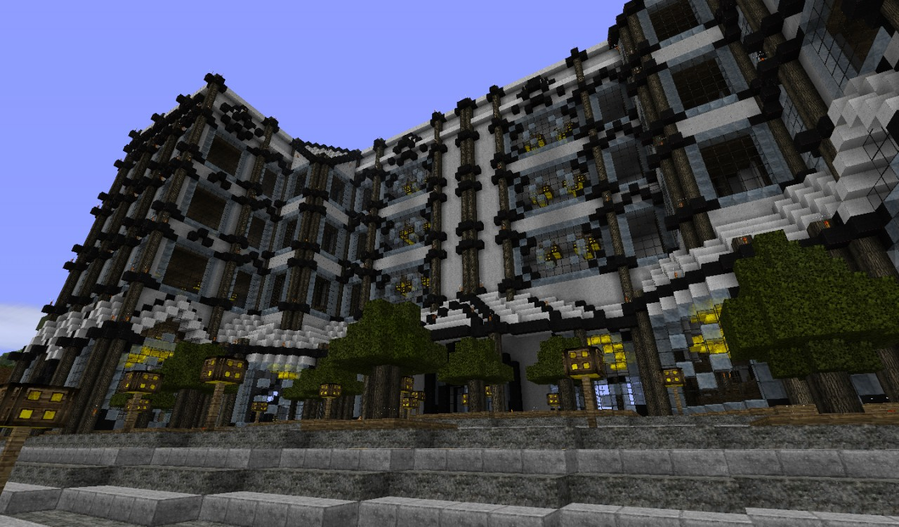 My luxury hotel minecraft project for Luxury hotel project