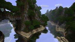 Pacific Island Map Minecraft Project