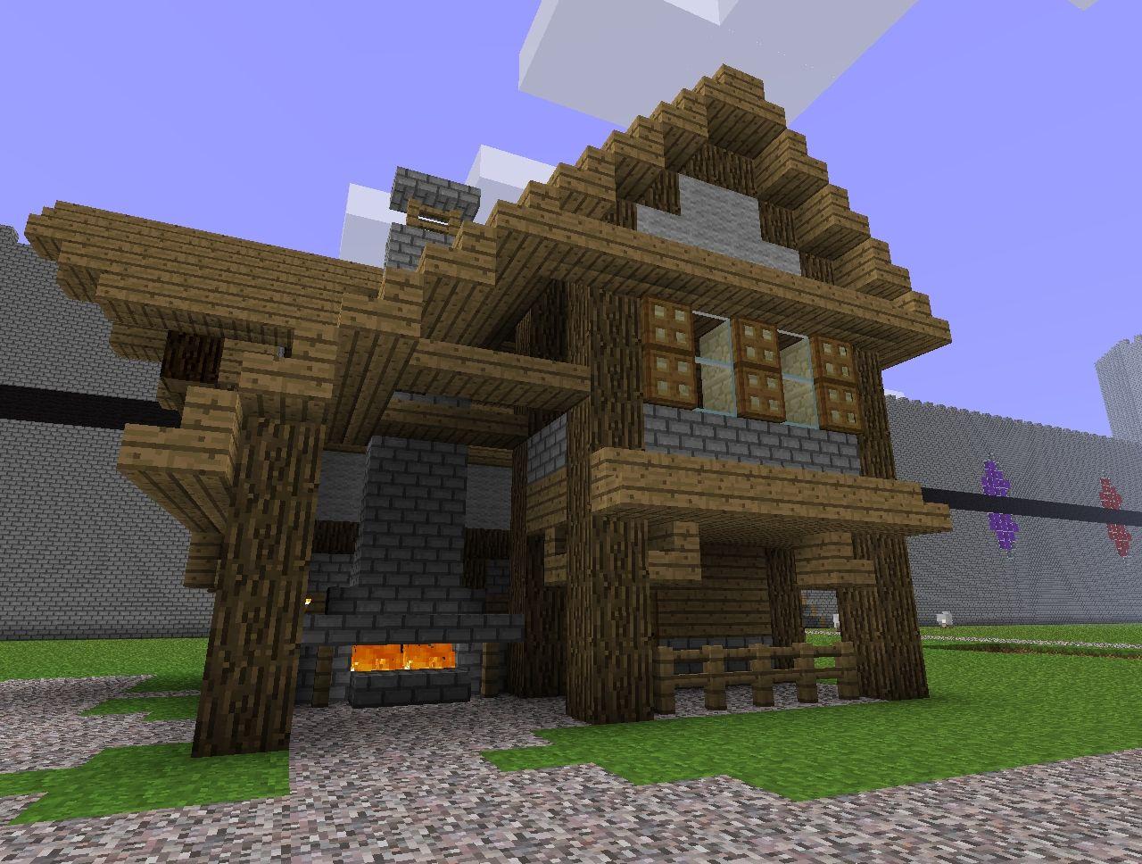 Minecraft Village Blacksmith Blueprints | Pics | Download |