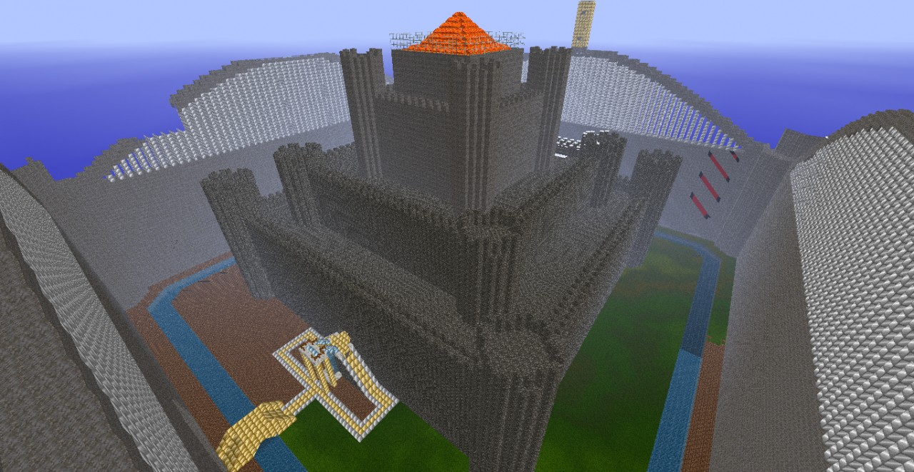 Fortress of solitude epic castle build minecraft project for Fortress build