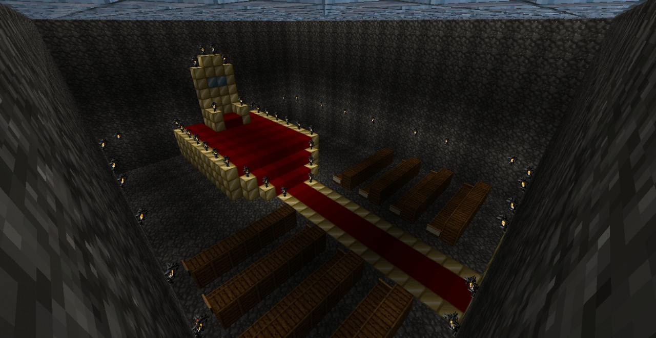 Minecraft fortress of solitude viewing gallery