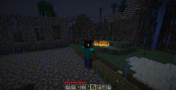 Lighting struck and there are more creepers outside my fence! Minecraft Blog