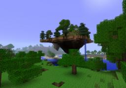 Floating mountain Minecraft