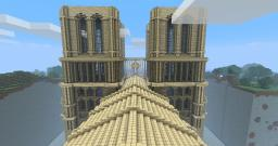 My Cathedral, Notre dame inspired Minecraft Map & Project