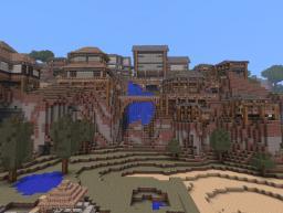 Hillside Village Minecraft Map & Project
