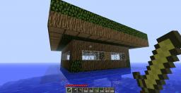 My Wooden House on Water Minecraft Map & Project