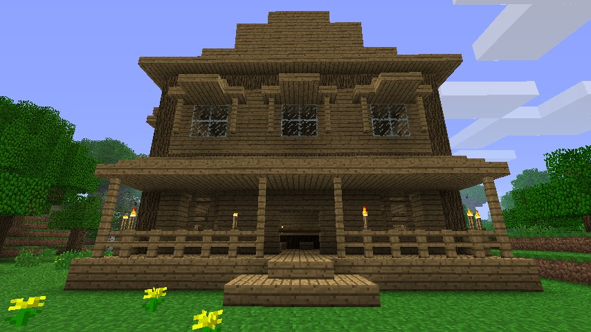 My Western Saloon Minecraft Project