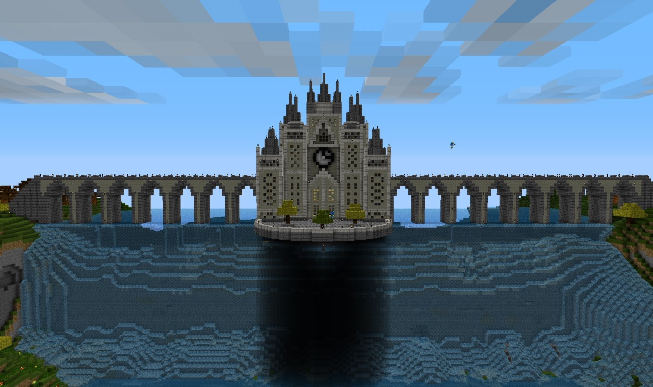 Waterfall castle minecraft project for Show pool post expert ng best forum