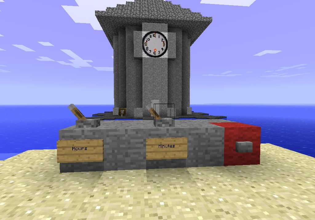 Updated Clock Tower Access