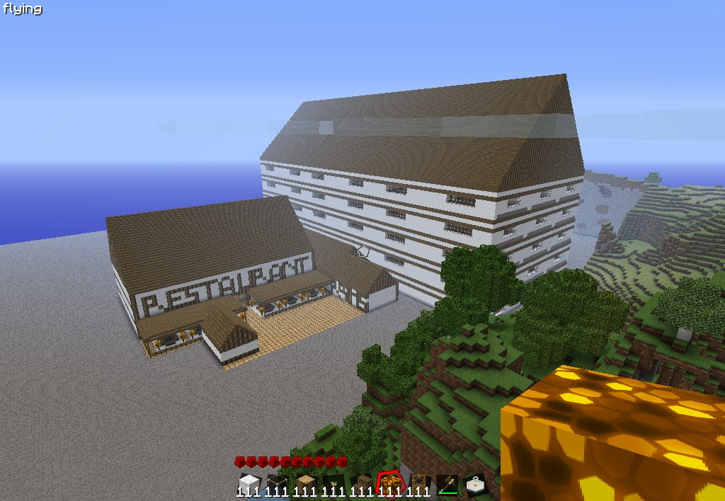 Hotel de luxe minecraft project for Hotel de luxe