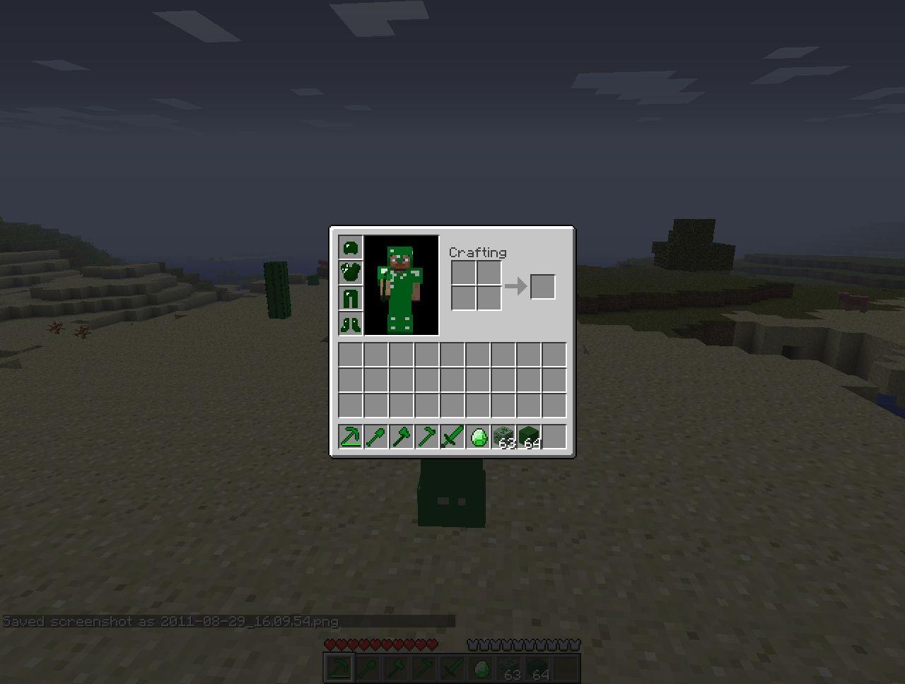 Minecraft Emerald Armor | www.imgkid.com - The Image Kid ...